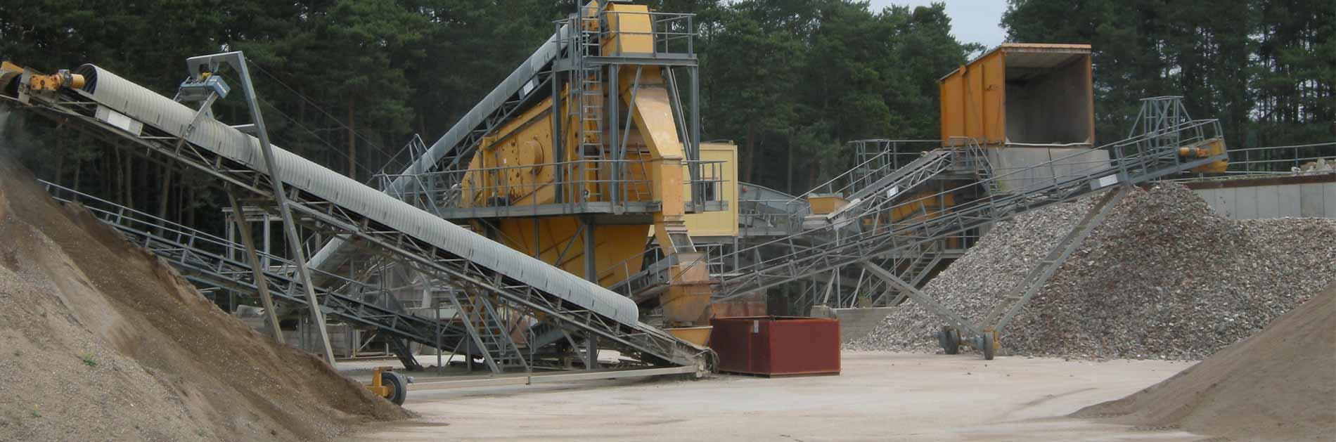 Mineralik Entsorgungsstätte